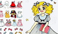 Dress Up Candy Candy